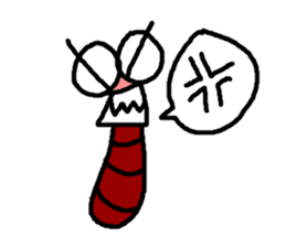 Ms.Litter and Mr.Bug sticker #125805