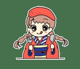 Mentai girl -eldest daughter- sticker #125861