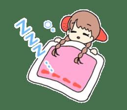 Mentai girl -eldest daughter- sticker #125864