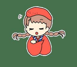 Mentai girl -eldest daughter- sticker #125865
