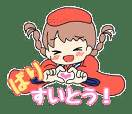 Mentai girl -eldest daughter- sticker #125877