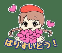 Mentai girl -eldest daughter- sticker #125878