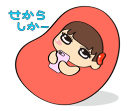 Mentai girl -third daughter- sticker #126373