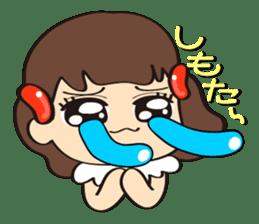 Mentai girl -third daughter- sticker #126375