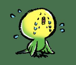 Budgerigar parakeet series sticker #126636