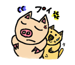 Mybu-&Nyanbu- sticker #126669