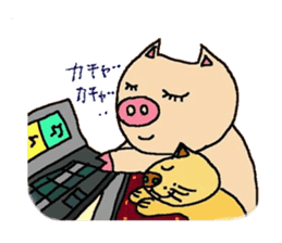 Mybu-&Nyanbu- sticker #126689