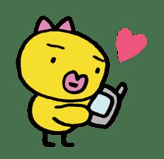 kutibiru-piyoko sticker #127084