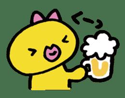 kutibiru-piyoko sticker #127085