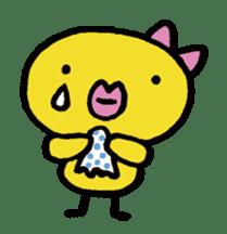 kutibiru-piyoko sticker #127087
