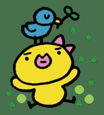 kutibiru-piyoko sticker #127100