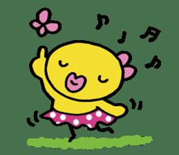 kutibiru-piyoko sticker #127107