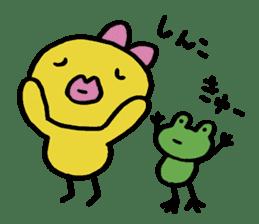 kutibiru-piyoko sticker #127121
