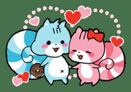 Lollipop Squirrels sticker #127497