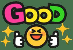 Colorful Smile sticker #128397
