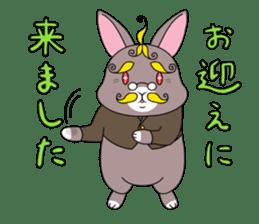 Prince of rabbit2 sticker #128785