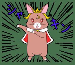 Prince of rabbit2 sticker #128787