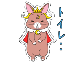Prince of rabbit2 sticker #128789