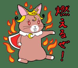 Prince of rabbit2 sticker #128799