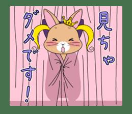 Prince of rabbit2 sticker #128806