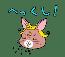 Prince of rabbit2 sticker #128807