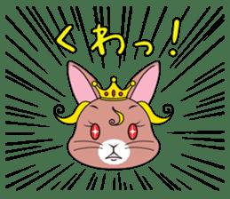 Prince of rabbit2 sticker #128808