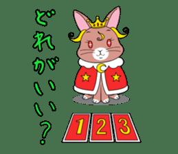 Prince of rabbit2 sticker #128813