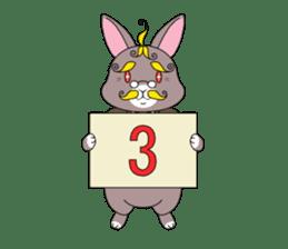 Prince of rabbit2 sticker #128816