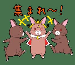 Prince of rabbit2 sticker #128817