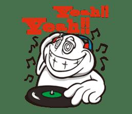Ya-man : Love, Peace and Happiness sticker #129082