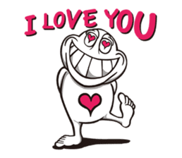 Ya-man : Love, Peace and Happiness sticker #129099