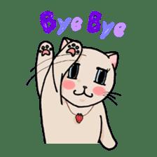 strawberry cats sticker #129100