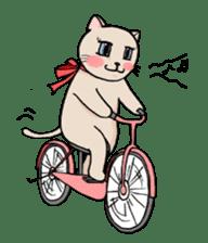 strawberry cats sticker #129107