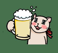 strawberry cats sticker #129115