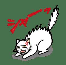 strawberry cats sticker #129119