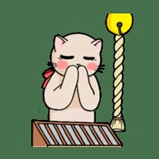 strawberry cats sticker #129126