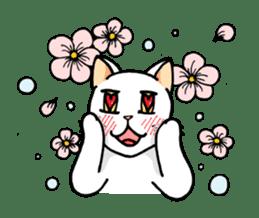 strawberry cats sticker #129127