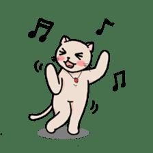 strawberry cats sticker #129135