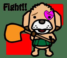 HARAMAKI DOG sticker #129224