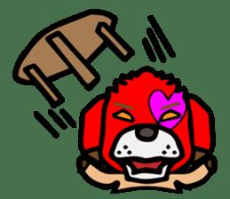HARAMAKI DOG sticker #129229