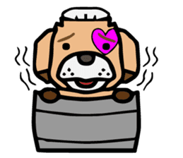 HARAMAKI DOG sticker #129231