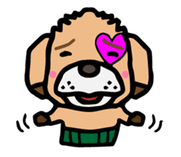 HARAMAKI DOG sticker #129232