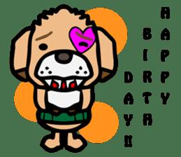 HARAMAKI DOG sticker #129245
