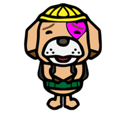 HARAMAKI DOG sticker #129254