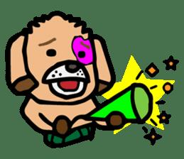 HARAMAKI DOG sticker #129256