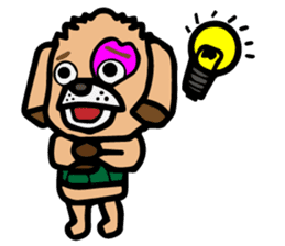 HARAMAKI DOG sticker #129257