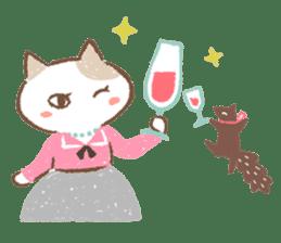 Minette Chouette sticker #129356