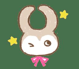 Minette Chouette sticker #129361