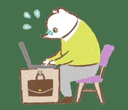 Minette Chouette sticker #129369