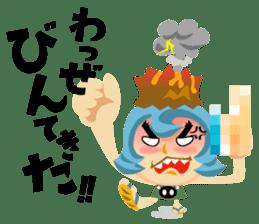 Jump! The Kagoshima friends sticker #129443